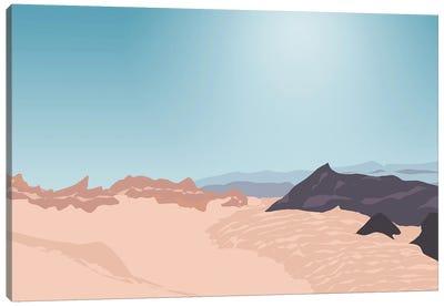 Valle De La Luna (Moon Valley), San Pedro De Atacama, Chile Canvas Art Print