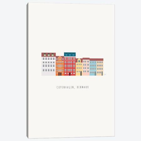 Nyhavn II, Copenhagen, Denmark South Canvas Print #ELY201} by Lyman Creative Co. Canvas Art