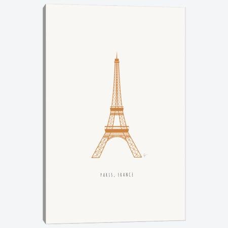 Eiffel Tower, Paris, France Canvas Print #ELY203} by Lyman Creative Co. Canvas Artwork