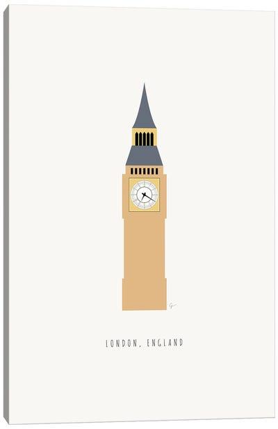 Big Ben, London, England Canvas Art Print