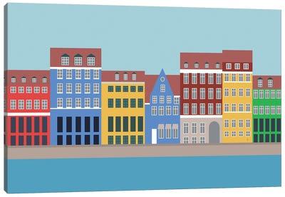 Nyhavn, Copenhagen, Denmark North Canvas Art Print