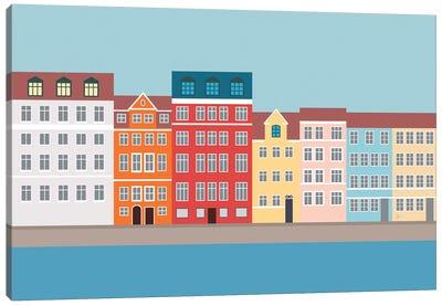 Nyhavn, Copenhagen, Denmark South Canvas Art Print
