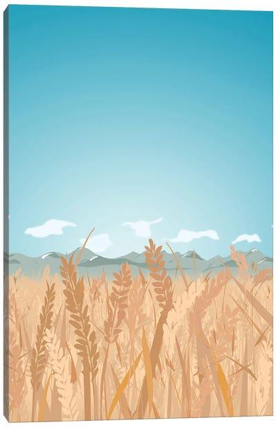Montana's 'Golden Triangle' Canvas Art Print