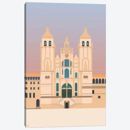 Santiago De Compostela Cathedral, Camino De Santiago, Galicia, Spain Canvas Print #ELY78} by Lyman Creative Co. Canvas Print