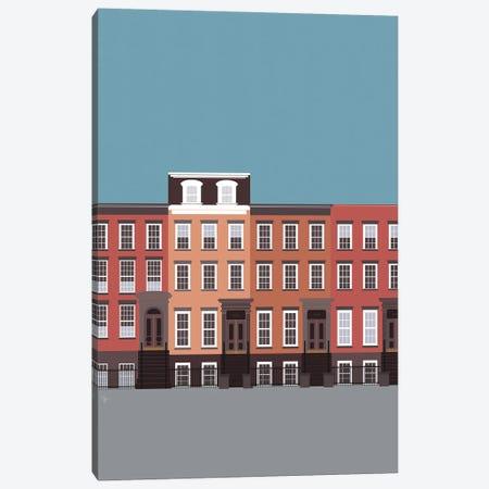 New York City, NYC, West Village Canvas Print #ELY82} by Lyman Creative Co. Canvas Artwork