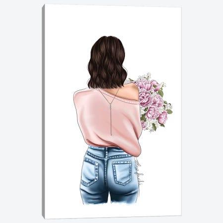 Blooms Canvas Print #ELZ100} by Elza Fouche Canvas Art Print