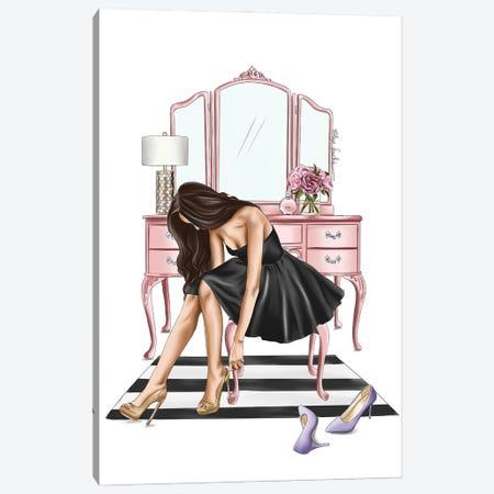 Little Black Dress Canvas Print #ELZ140} by Elza Fouche Canvas Art Print