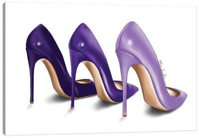 Purple Shades Canvas Art Print