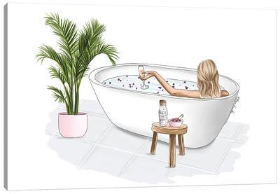 Bath Bliss Canvas Art Print