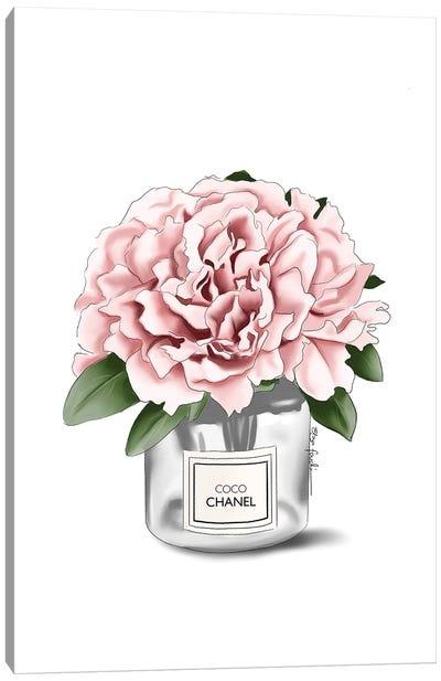 Chanel Flower Canvas Art Print