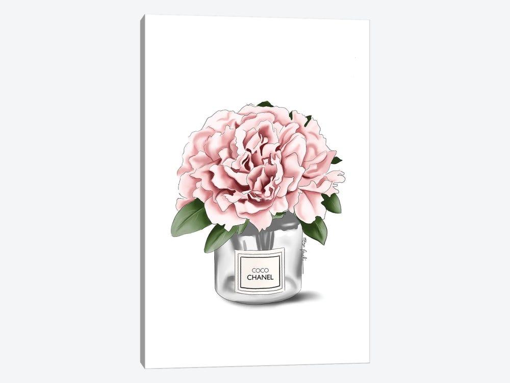 Chanel Flower by Elza Fouche 1-piece Canvas Art Print