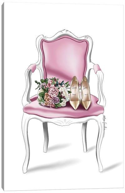 Bridal Chair Canvas Art Print