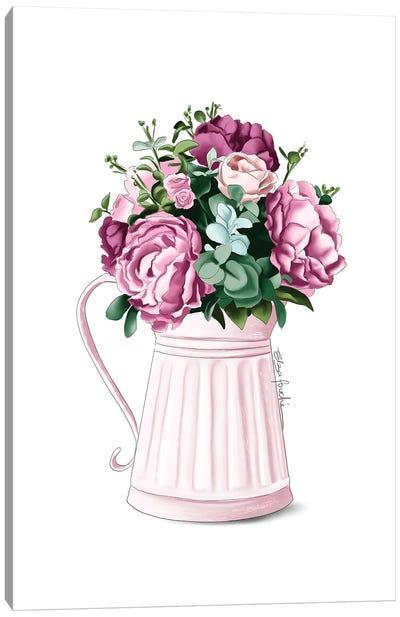 Farm Flowers Canvas Art Print
