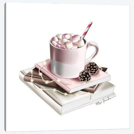 Hot Chocolate Canvas Print #ELZ168} by Elza Fouche Canvas Art Print