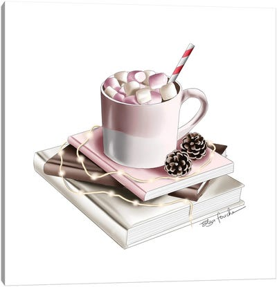 Hot Chocolate Canvas Art Print