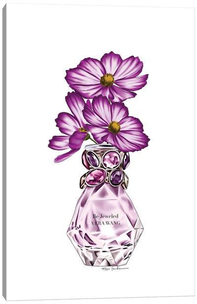 Vera Perfume & Flowers Canvas Art Print