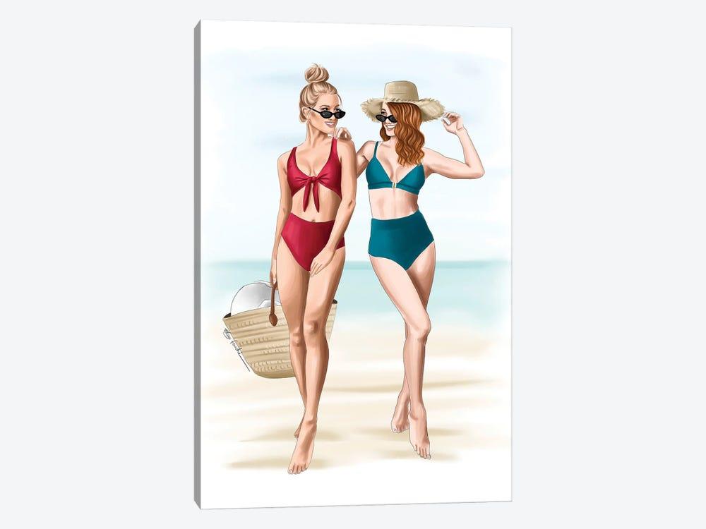 Beach Days by Elza Fouche 1-piece Art Print