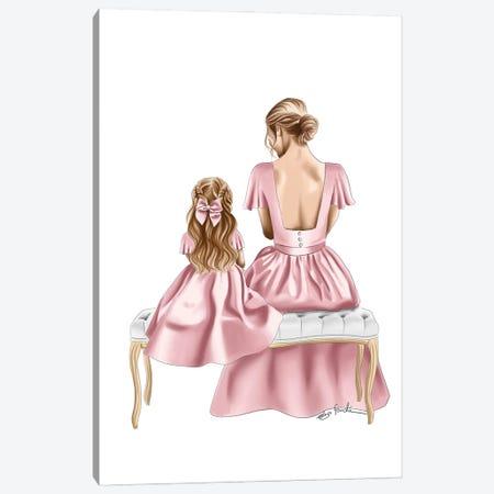 Pretty In Dresses Canvas Print #ELZ199} by Elza Fouche Canvas Artwork