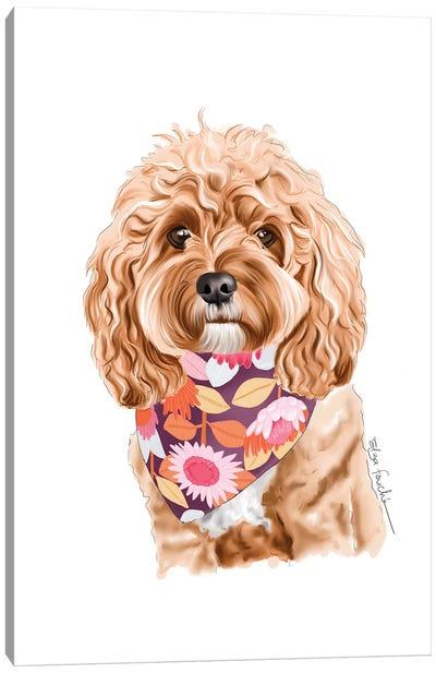 Cavoodle Canvas Art Print