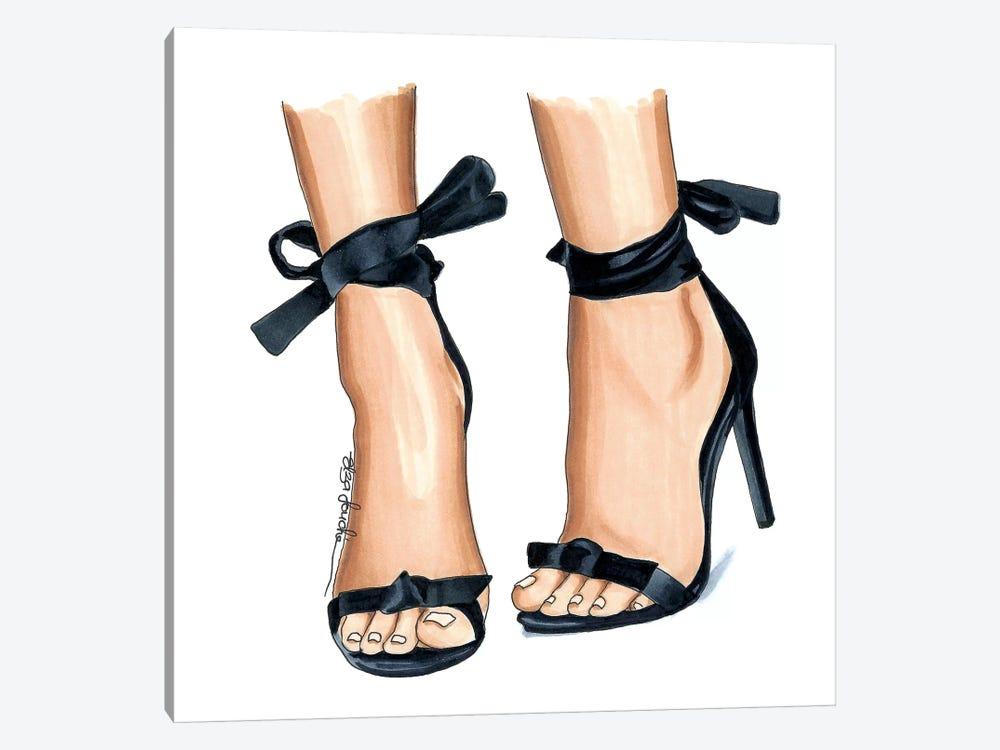 Cutesy Heels by Elza Fouche 1-piece Canvas Art