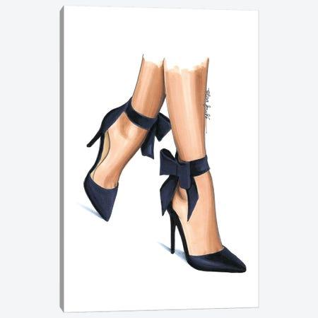 Navy Heels Canvas Print #ELZ43} by Elza Fouche Canvas Print