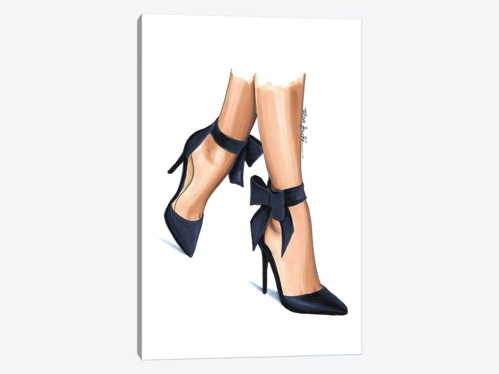Navy Heels by Elza Fouche 1-piece Canvas Print