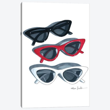 Sunnies Canvas Print #ELZ75} by Elza Fouche Canvas Art Print