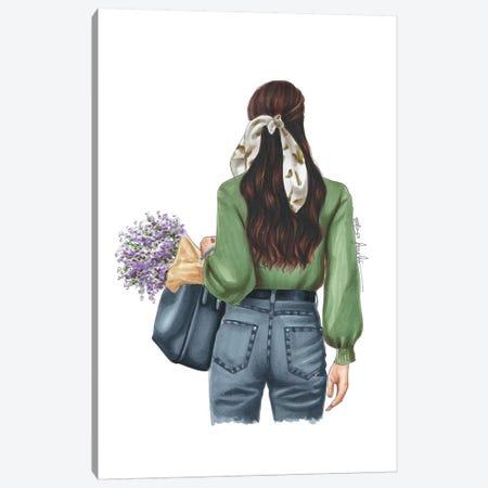 Spring Days Canvas Print #ELZ85} by Elza Fouche Canvas Wall Art
