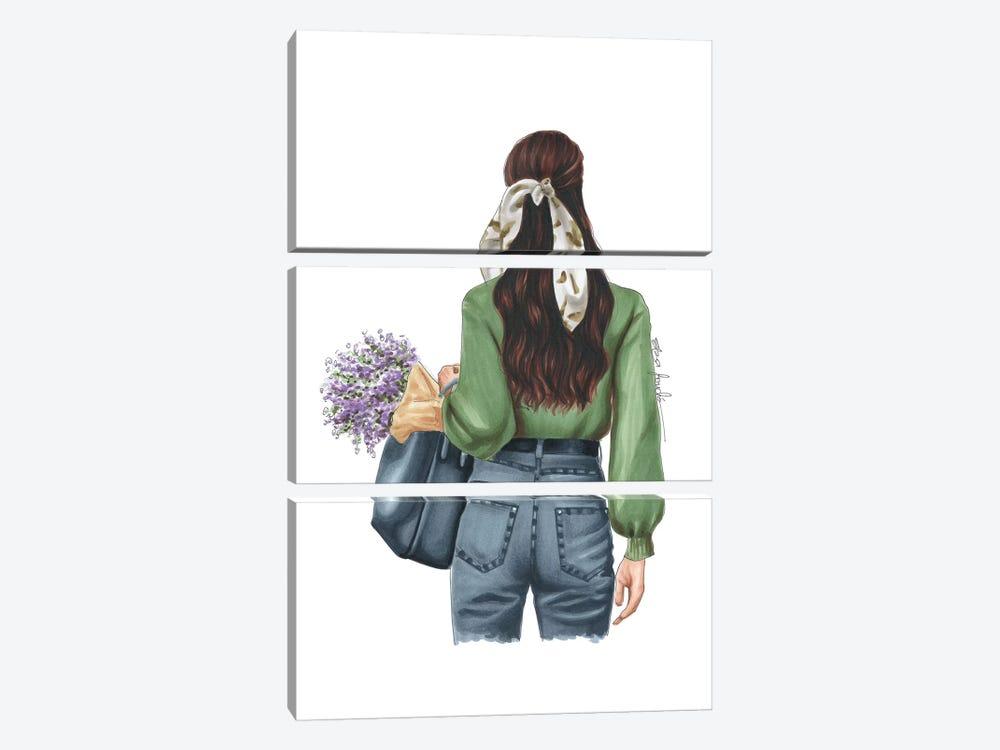 Spring Days by Elza Fouche 3-piece Canvas Art Print