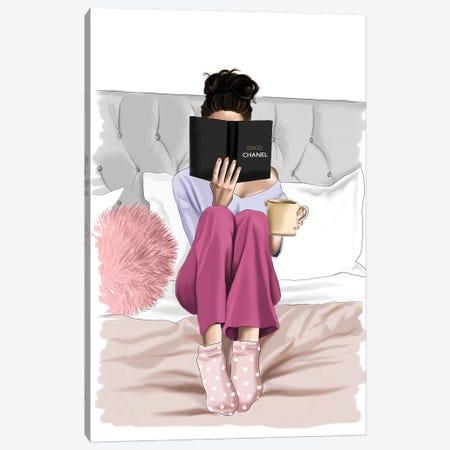 Cozy Days Canvas Print #ELZ87} by Elza Fouche Canvas Art