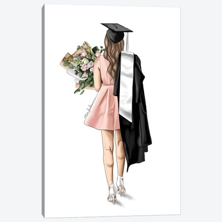Graduated Canvas Print #ELZ97} by Elza Fouche Art Print