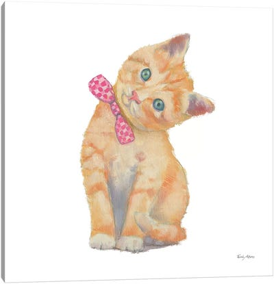 Cutie Kitties II Canvas Art Print