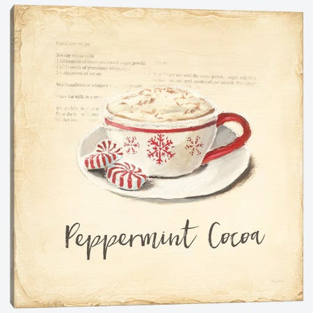 Cest Bon Bon Peppermint Canvas Print #EMA30} by Emily Adams Canvas Artwork