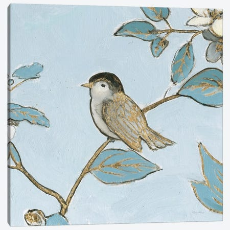 Toile Birds II Canvas Print #EMA34} by Emily Adams Art Print