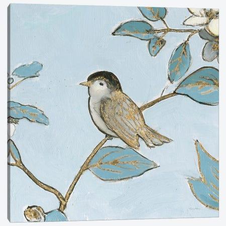 Toile Birds II Canvas Print #EMA34} by Emily Adams Art Print