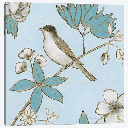 Toile Birds IV Canvas Print #EMA36} by Emily Adams Art Print