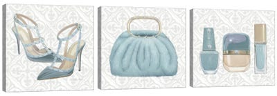 Must Have Fashion Triptych Canvas Art Print