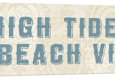 Beach Treasures VIII  No Shells Canvas Art Print