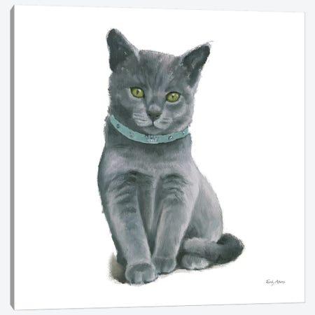 Cutie Kitties VI 3-Piece Canvas #EMA6} by Emily Adams Canvas Artwork