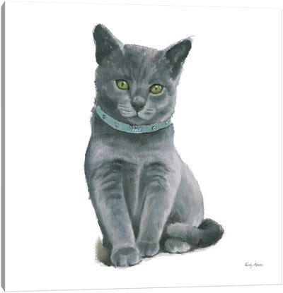 Cutie Kitties VI Canvas Art Print