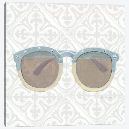 Must Have Fashion I Gray White Canvas Print #EMA9} by Emily Adams Art Print