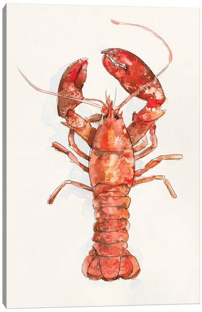 Salty Lobster II Canvas Art Print