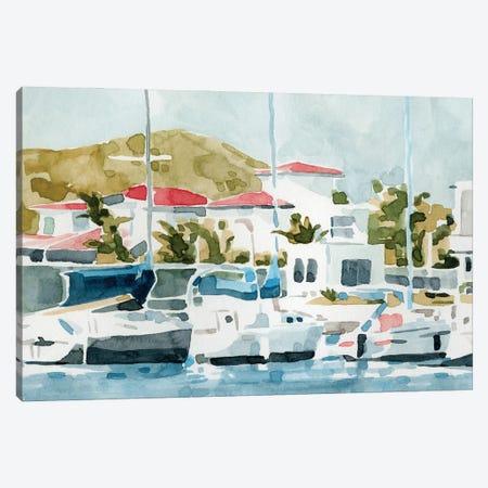 Vintage Vacation I Canvas Print #EMC123} by Emma Caroline Canvas Artwork