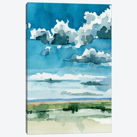 Western Skies I Canvas Print #EMC125} by Emma Caroline Canvas Art Print