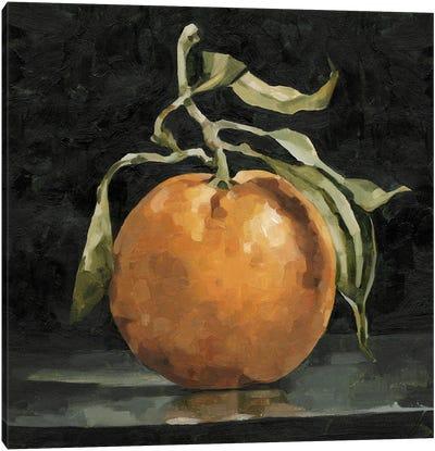 Dark Orange Deux II Canvas Art Print