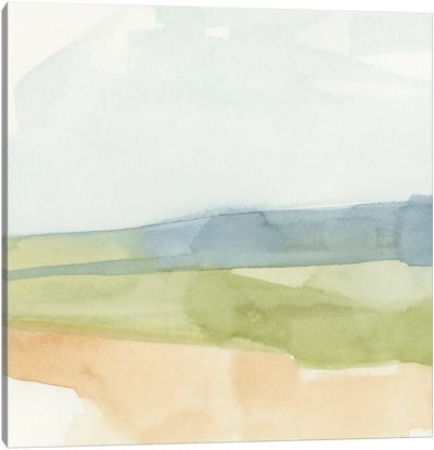 Pastel Slopes I Canvas Art Print