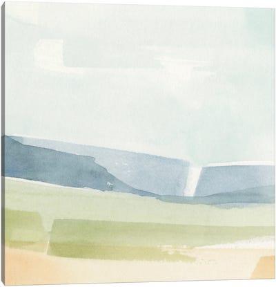 Pastel Slopes II Canvas Art Print