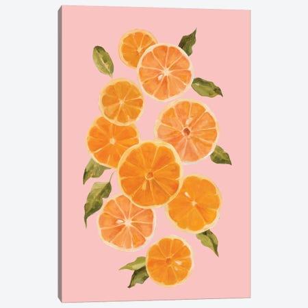 Spring Citrus I Canvas Print #EMC13} by Emma Caroline Canvas Wall Art
