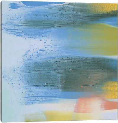 Rainbow Scrape II Canvas Art Print