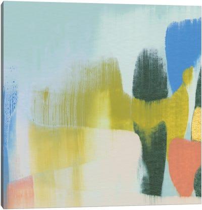 Rainbow Scrape III Canvas Art Print